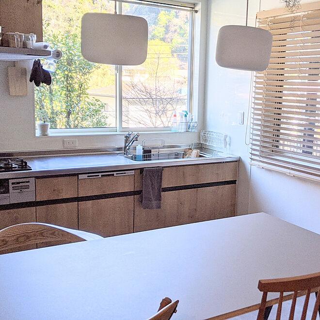 「I型壁付けキッチンを、健やかにインテリアの一部にするメソッド」 by kobさん