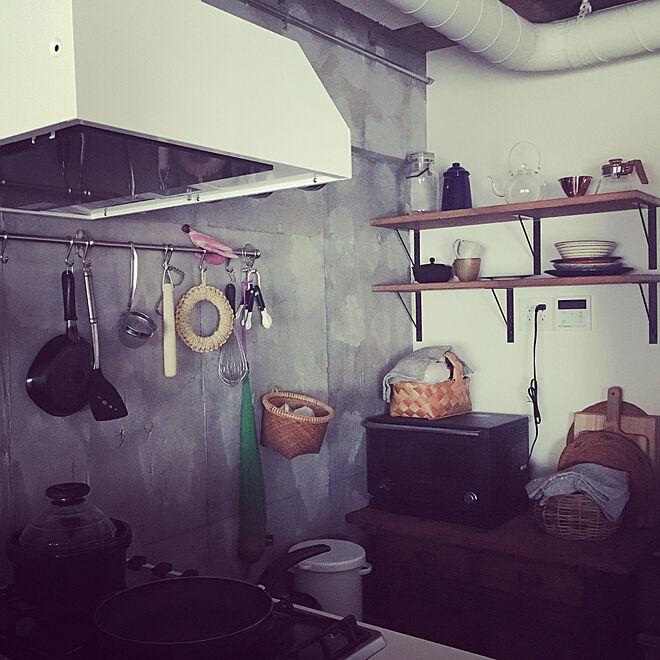 キッチン/キッチン収納/リノベーション/DIY/中古マンションリノベーション...などのインテリア実例 - 2018-07-06 03:30:19