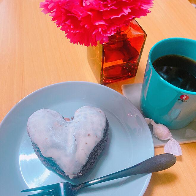 ティーマ/バタバタの朝/優雅な朝/ドーナツ/美味しい...などのインテリア実例 - 2021-03-04 08:01:14