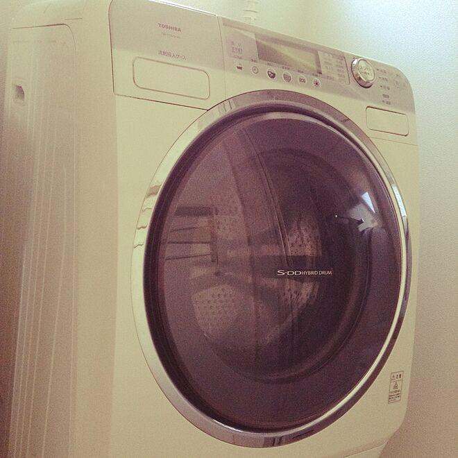 バス/トイレ/TOSHIBA洗濯機/洗濯機のインテリア実例 - 2016-07-31 08:55:29