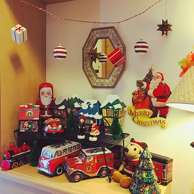TIN缶コレクション/かわいいお菓子の缶/Tin缶/クリスマス/ハワイアン...などのインテリア実例 - 2019-11-15 14:32:49