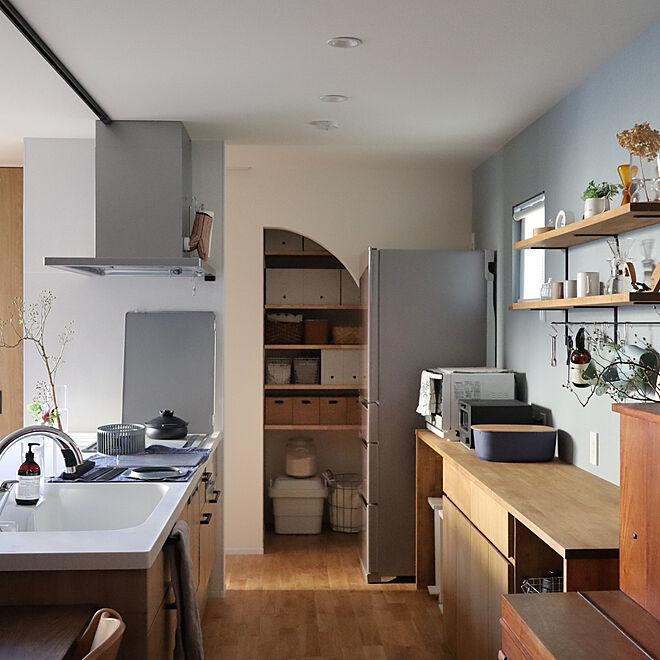「使いやすく整えるから、温もりある日常が絵になるキッチンづくり」 by maho2347さん