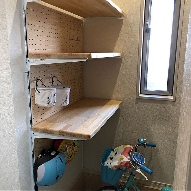 収納/DIY/子供/棚受/パンチングボード...などのインテリア実例 - 2021-05-02 17:31:27