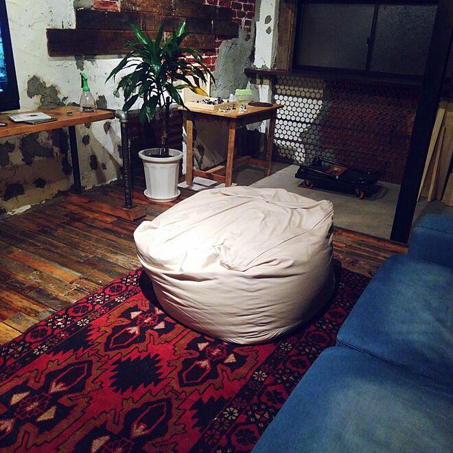 リビング/ソファー/インダストリアル/journal standard Furniture/ペルシャ絨毯...などのインテリア実例 - 2015-11-16 00:22:25