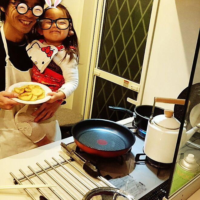 キッチン/リンナイ/マイトーン/oil spray/IKEA...などのインテリア実例 - 2017-02-12 21:58:44