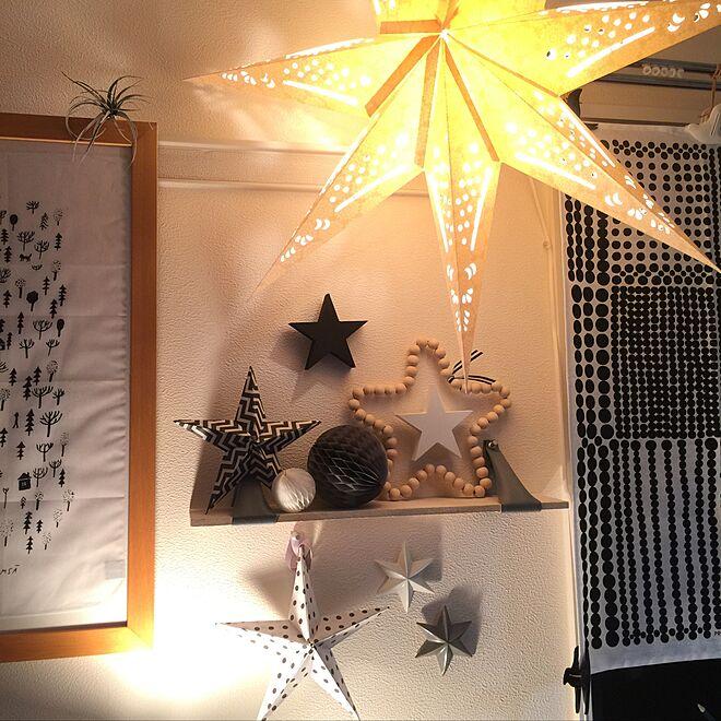 棚/夜の星/星/賃貸でも楽しく♪/たまたま...などのインテリア実例 - 2016-07-23 00:18:09