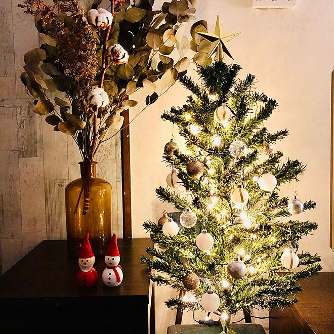 ニトリのイルミネーション/ニトリのクリスマスオーナメント/セリア/クリスマス/クリスマスツリー...などのインテリア実例 - 2020-12-01 00:31:04