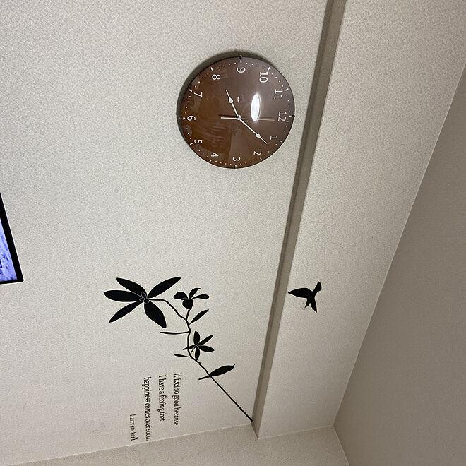 時計☆/RoomClipアンケート/リビングのインテリア実例 - 2019-12-01 20:08:01