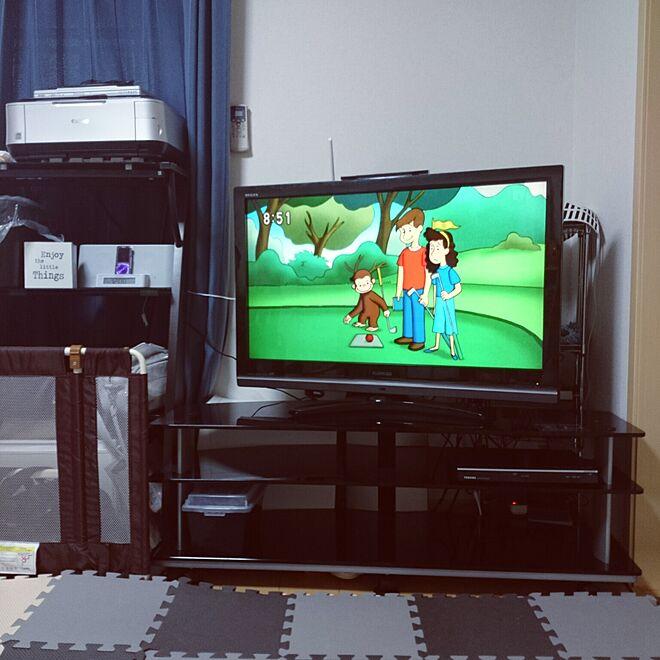 リビング/テレビ/TOSHIBA/REGZA 37Z8000/2画面...などのインテリア実例 - 2016-07-23 09:00:41