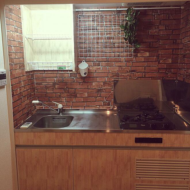 キッチン/100均/DIY/ダイソーのインテリア実例 - 2016-07-20 23:18:40
