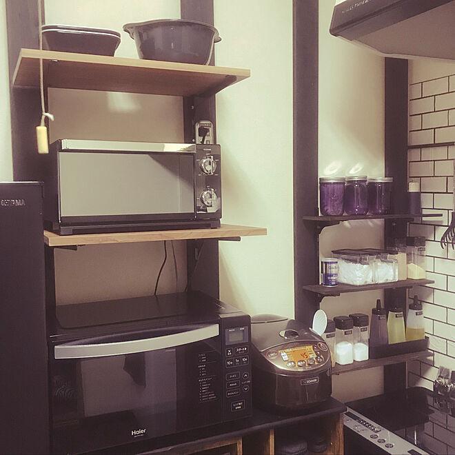 キッチン/料理男子/男前/一人暮らし/リノベーション...などのインテリア実例 - 2020-06-12 04:14:39