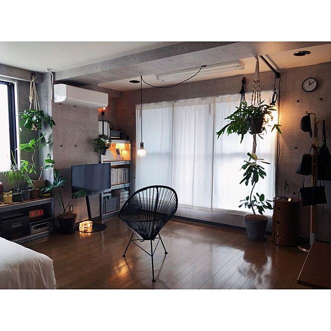 「36m2。ひと目惚れの内装を活かしてつくる、緑ある都会のカフェ空間」 by grass_fieldさん