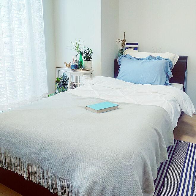 「19m2。南国の沿岸を思う、シンプルでシックなお部屋づくり」 by uwblue_さん