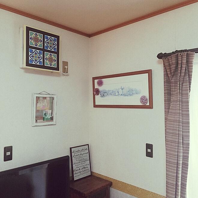 壁/天井/フラワー/ウォールデコレーション/B・L・Style/ウォルフロレのインテリア実例 - 2020-01-23 12:29:25