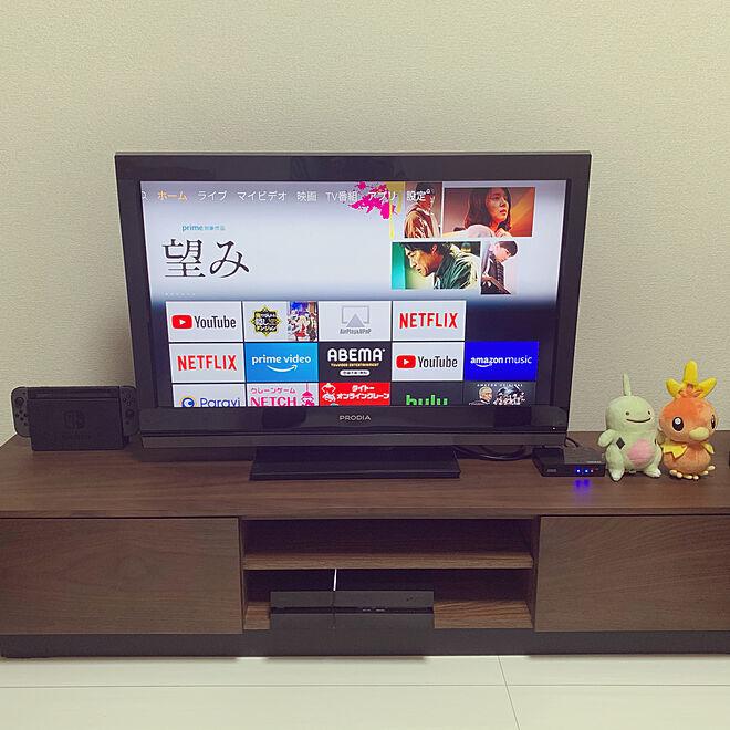 テレビ台/リビング/ローボードのインテリア実例 - 2021-02-24 20:54:25