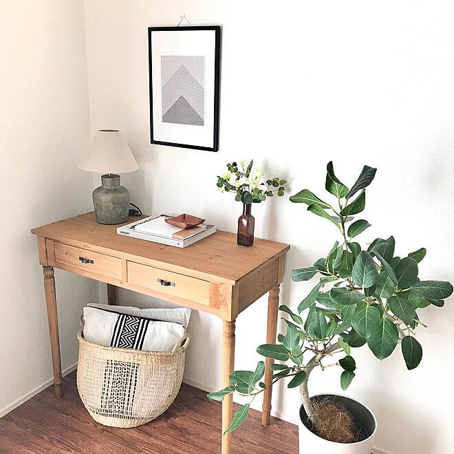 natural kitchen/Union/フィカスベンガレンシス/テーブルランプ/アートのある暮らし...などのインテリア実例 - 2021-05-01 05:18:13