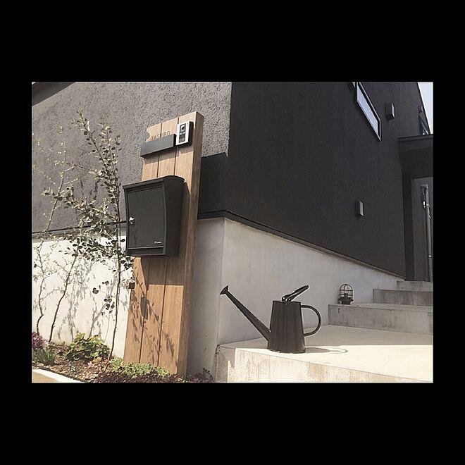 壁/天井/ジョウロ/階段/外壁/ポスト...などのインテリア実例 - 2015-07-21 19:47:28