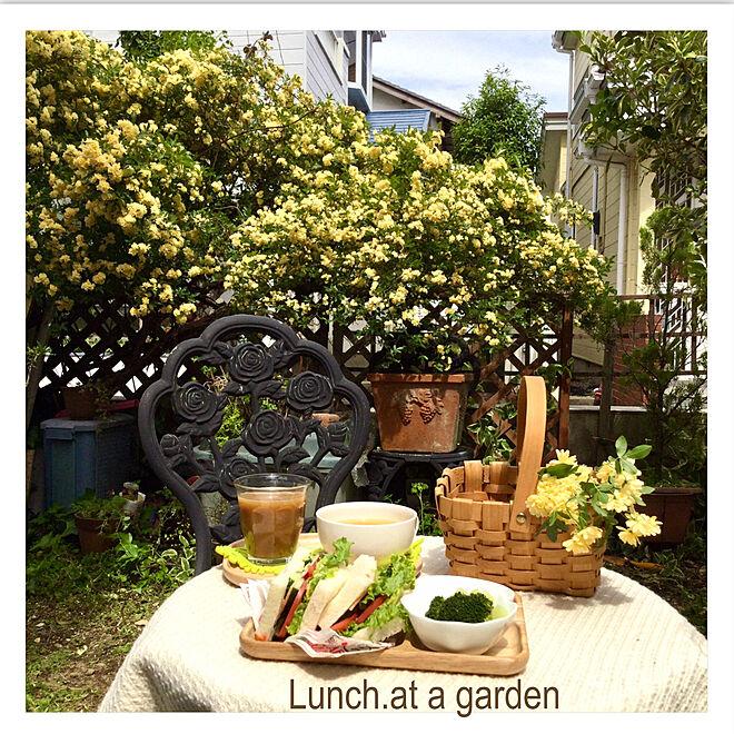 お庭でランチ/コメントお気遣いなく♡/記録用/皆さんいつもありがとう♡/花のある暮らし...などのインテリア実例 - 2021-04-23 07:31:15