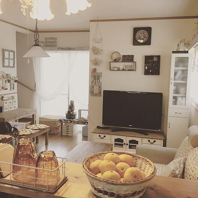 キッチン/リビング学習/キッチンカウンター/DIY/賃貸でも楽しく♪...などのインテリア実例 - 2016-11-06 23:14:53