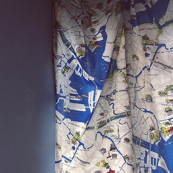 壁/天井/DIY/洋裁/子供部屋のカーテン/子供部屋 男の子...などのインテリア実例 - 2018-01-08 13:08:12