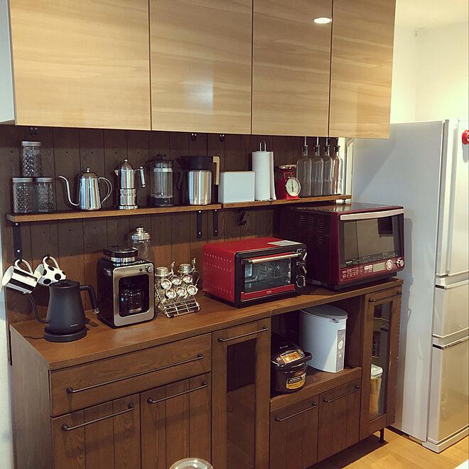 キッチン/食器棚のインテリア実例 - 2019-02-06 17:22:57