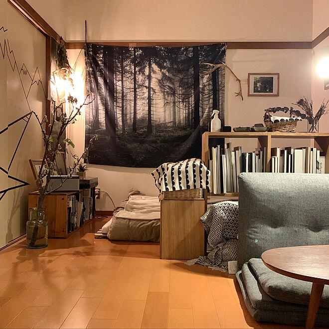 「20m2。自分のものさしで心地よさを追求する、感性が活きたアートな空間」 by juno51さん