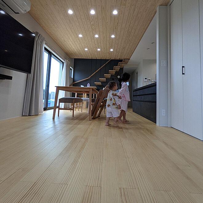 部屋全体/無垢の床/ナチュラル/田んぼと山に囲まれたお家/木...などのインテリア実例 - 2021-06-13 20:51:48
