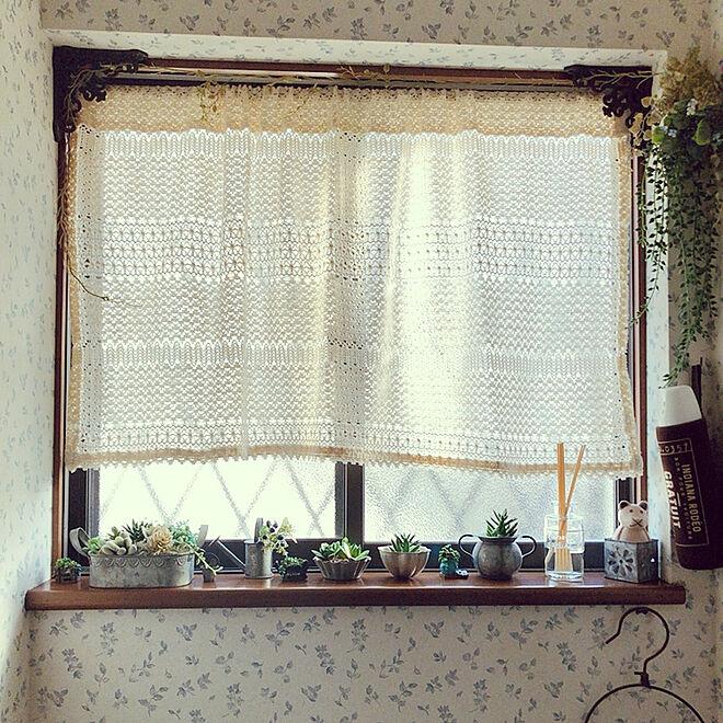 フェイクグリーン/トイレの窓辺ディスプレイ/Sawaday/香りのある暮らし/モニター中...などのインテリア実例 - 2021-04-18 20:07:12