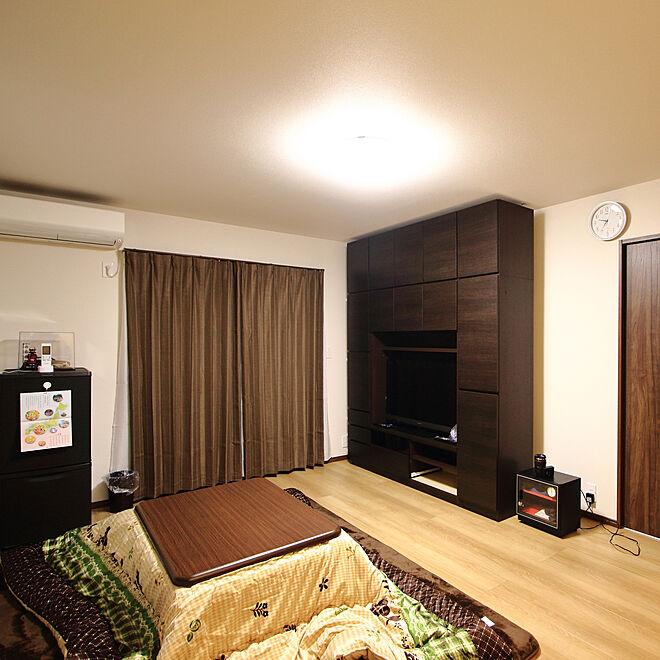 部屋全体/コタツ/TV収納/10畳の部屋のインテリア実例 - 2019-11-19 22:05:55
