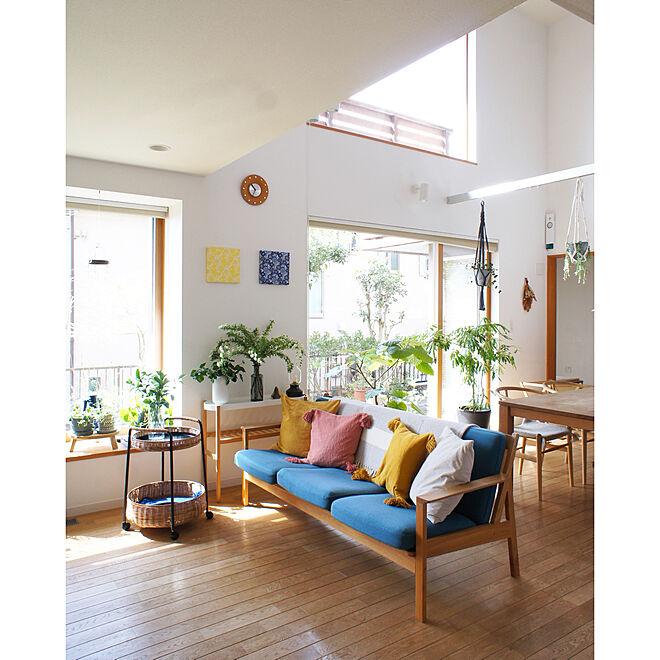 季節を楽しむ暮らし/グリーンのある暮らし/模様替え/ZARA HOME/IKEA...などのインテリア実例 - 2021-03-03 21:33:08