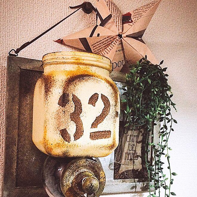 キッチン/星/ハンドメイド/バーンスター/雑貨...などのインテリア実例 - 2016-07-22 23:35:02