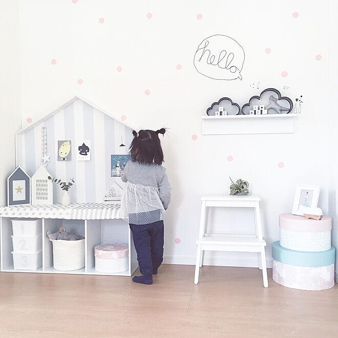 壁/天井/暮らしの一コマ/カラーボックス/10000人の暮らし/IKEA...などのインテリア実例 - 2018-02-25 14:54:33
