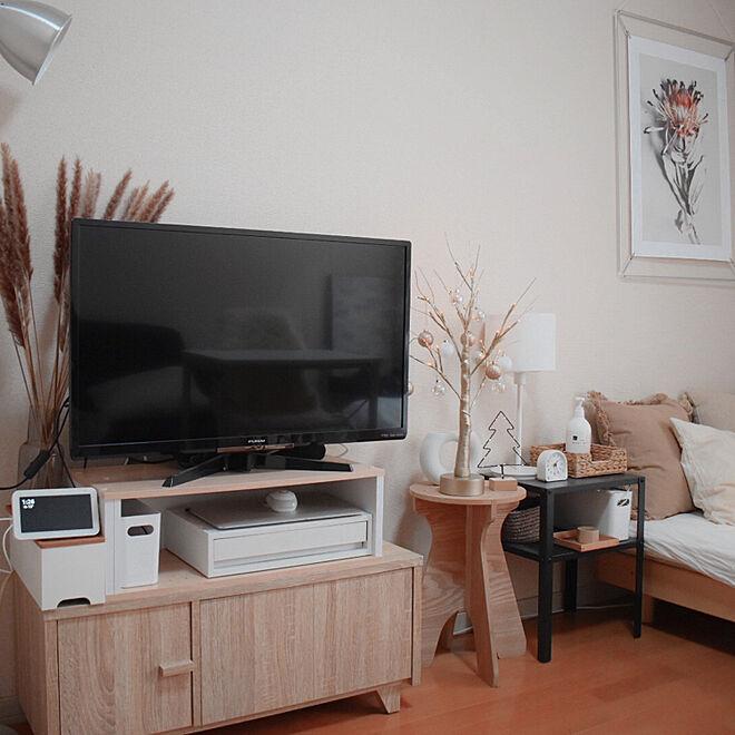 「25m2。しっとりと心地よい、シンプルに雰囲気で魅せる海外風のお部屋」 by saya.mさん