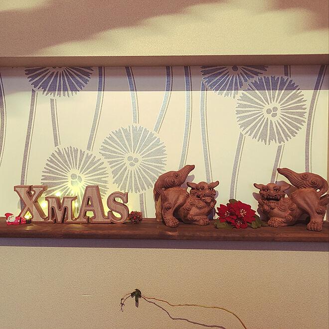 クリスマスディスプレイ/季節の飾り/レトロ/観葉植物/ワッツ...などのインテリア実例 - 2019-11-12 20:16:13