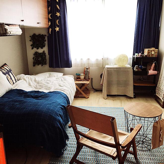「25m2。制限があっても工夫で魅力的に。IKEAラブ♡1Kルーム」 by mizeroさん