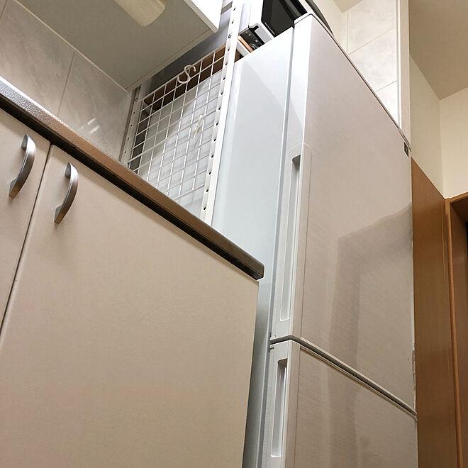 キッチン/シャープ/シャーププラズマクラスター冷蔵庫/オーブンレンジ/冷蔵庫...などのインテリア実例 - 2018-10-02 23:33:36