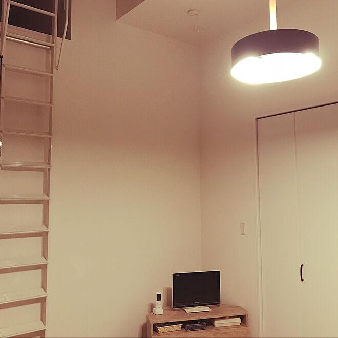 勾配天井+ロフト/勾配天井/ロフトのある部屋/ロフト/寝室の ...