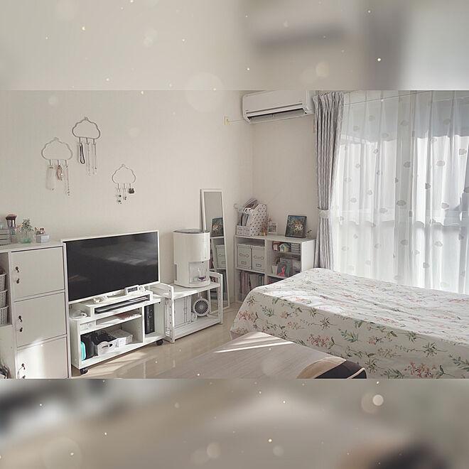 「24m2。スッキリも可愛いもバランスよく取り入れる、私らしいお部屋づくり」 by co.さん