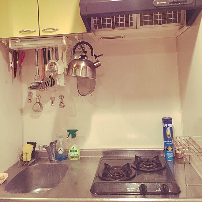 キッチン/一人暮らし/質素/ミニマルのインテリア実例 - 2015-11-28 01:43:38