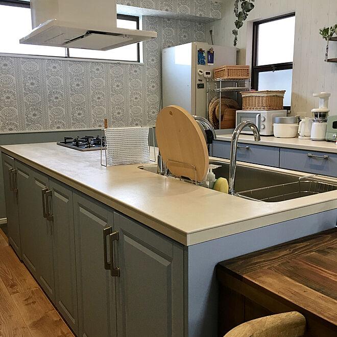 「自宅兼サロン◎みんなの笑顔と会話が弾む、オープンなキッチン空間」 by nocomugiさん