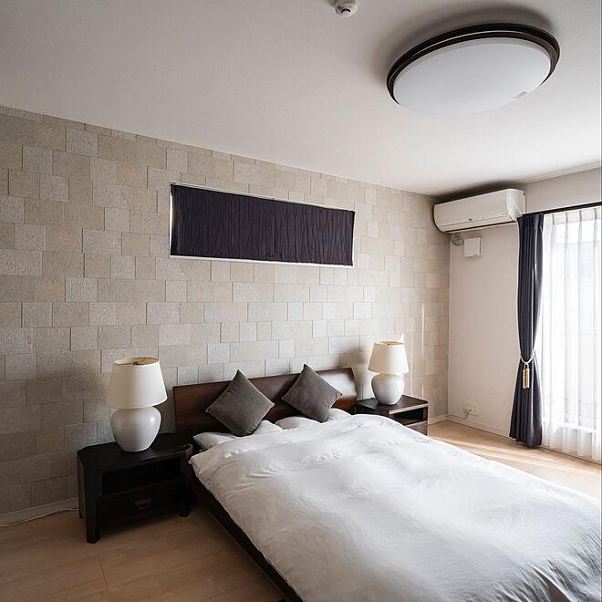 ベッド周り/アジアン/バリ/ホテル/ベッドフレーム...などのインテリア実例 - 2021-04-05 20:36:59