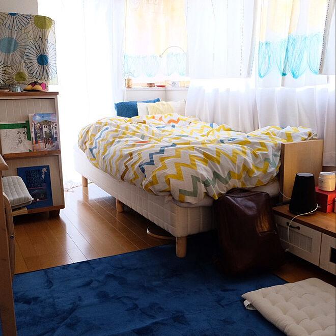 「20m2。好きなものに囲まれて。心地よいカラーバランスのお部屋」 by blue_vesselさん