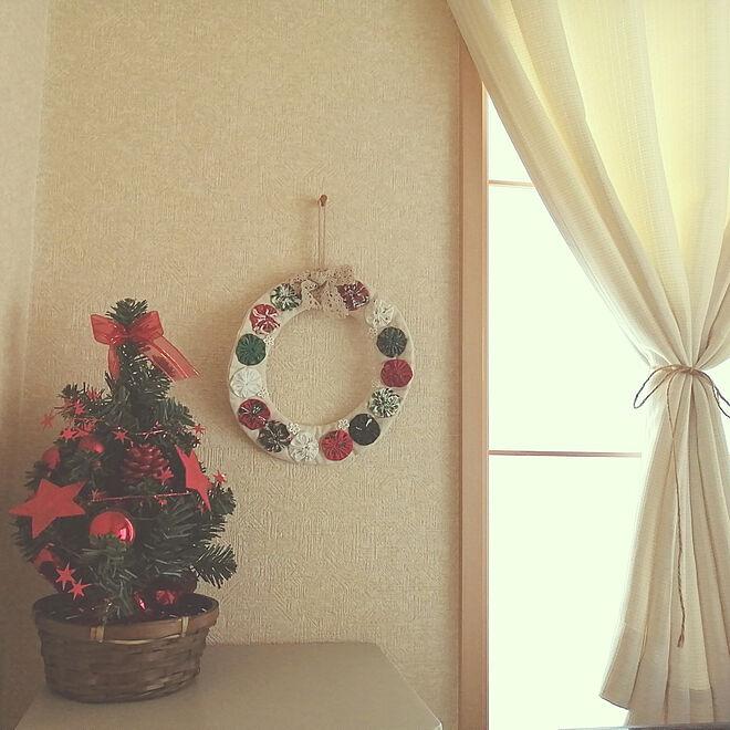 ベッド周り/クリスマス/建売りを自分好みに!/建売り住宅/白が好き♡...などのインテリア実例 - 2019-11-14 16:59:13