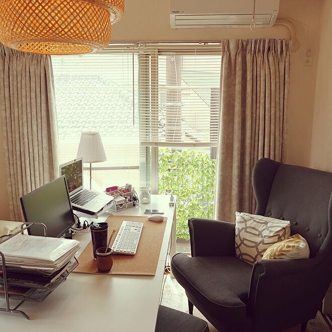 「24m2。私らしい快適を探る、職場としての役割も考えたお部屋のつくり方」 by r..さん