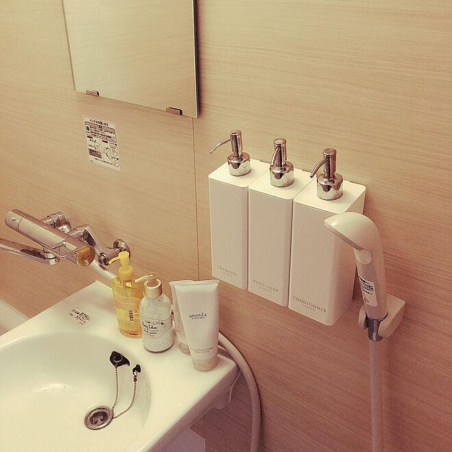 お風呂/狭い部屋/6畳/バス/トイレのインテリア実例 - 2021-03-23 10:14:30