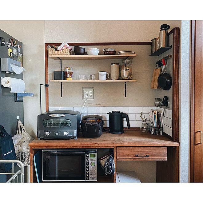 賃貸キッチン/キッチン/DIY/DIY家具/賃貸インテリア...などのインテリア実例 - 2021-06-06 19:33:15