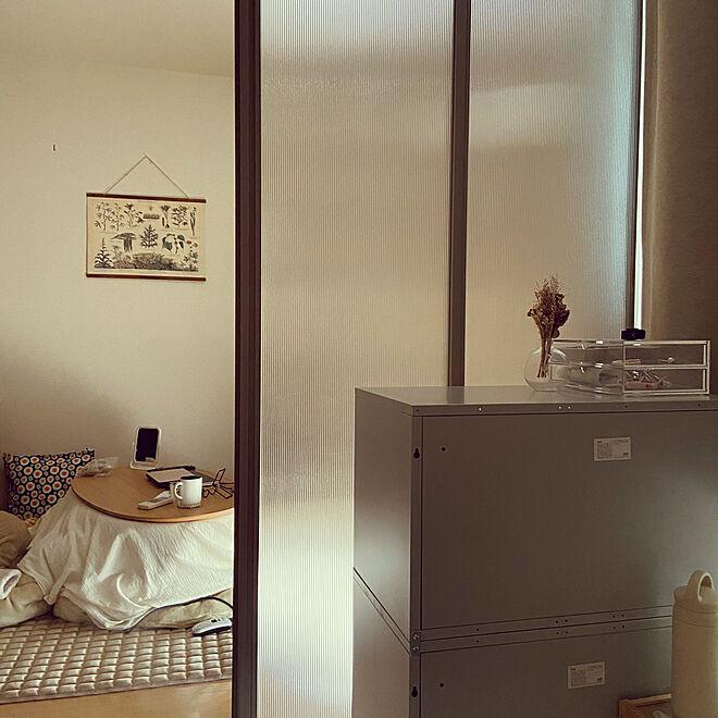 無印良品/ナチュラル/IKEA/一人暮らし/ベッド周りのインテリア実例 - 2021-03-04 11:17:48