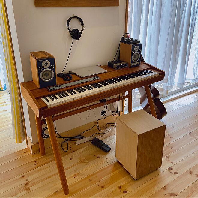 楽器のある部屋/楽器/ピアノがある部屋/電子ピアノ/ピアノ...などのインテリア実例 - 2019-12-14 13:31:33