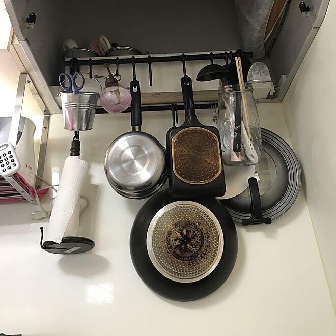 キッチン/DIY/IKEA/フォローお願いします(*_ _)ペコリのインテリア実例 - 2017-05-29 17:54:42
