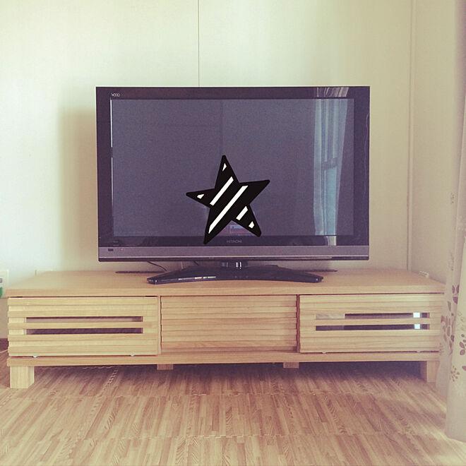 リビング/楽天で買ったもの/北欧/テレビ台/ナチュラル...などのインテリア実例 - 2018-02-01 21:50:47